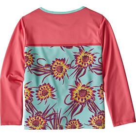 Patagonia Little Sol T-shirt manches longues Enfant, cereus flower small: ikat purple